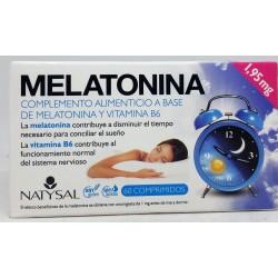 MELATONINA, 60 COMP, NATYSAL